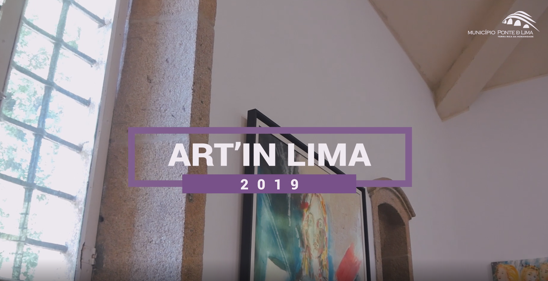 News Report by Alto Minho TV at the Opening of ART'IN LIMA 2019